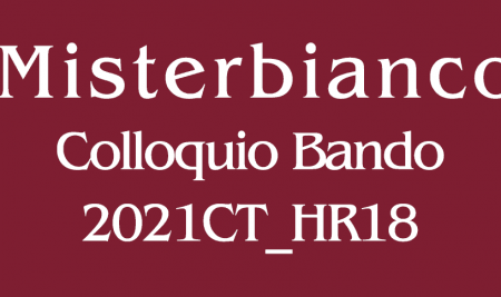 Comunicazione colloquio Bando 2021CT_HR18 sede di Misterbianco